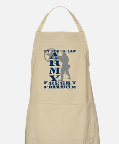 Son-in-Law Fought Freedom - ARMY BBQ Apron