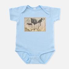 1861 Map Infant Bodysuit