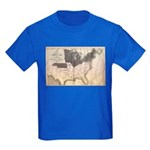 1861 Map Kids Dark T-Shirt