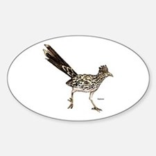 Roadrunner Bird Oval Decal