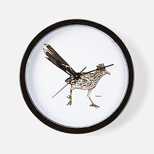 Roadrunner Bird Wall Clock