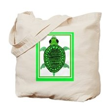 Turtle/PopArt Tote Bag