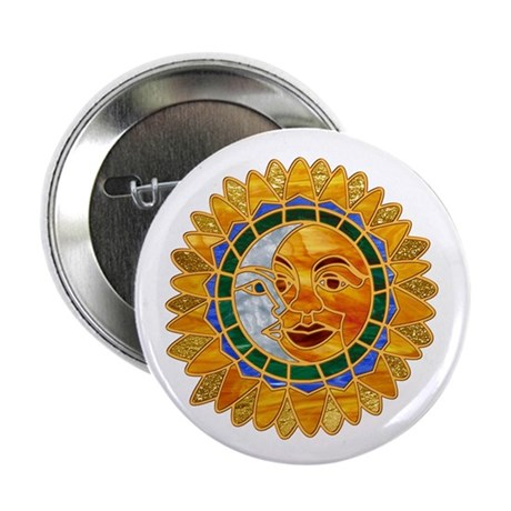 "Sun Moon Celestial 2.25"" Button (100 pack)"