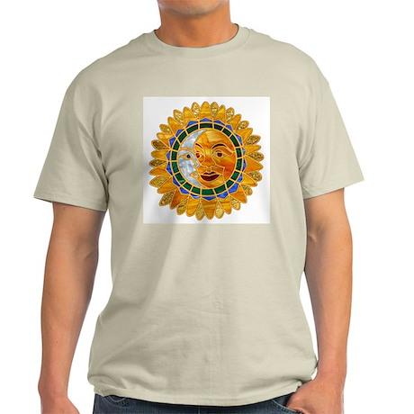 Sun Moon Celestial Ash Grey T-Shirt