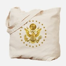 Gold Presidential Seal, The White House Tote Bag