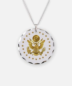 Gold Presidential Seal, The Necklace