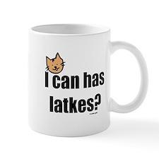 I Can Has Latkes Mug