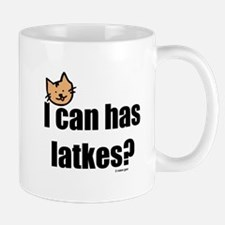 I Can Has Latkes Mug