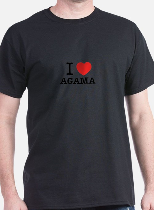 I Love AGAMA T-Shirt