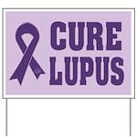 Cure Lupus Awareness Yard Sign