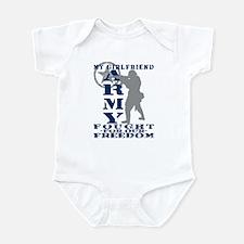 GF Fought Freedom - ARMY Infant Bodysuit