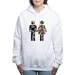 Toilet Graffiti Women's Hooded Sweatshirt