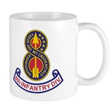 8th Infantry Division<BR> 11 Ounce Mug 1