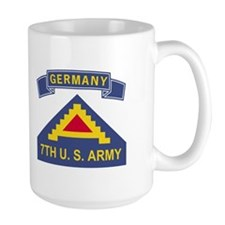 8th Infantry Division<BR> 15 Ounce Mug 3