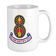 8th Infantry Division<BR> 15 Ounce Mug 2