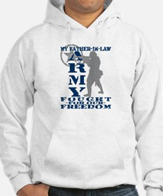 Father-n-Law Fought Freedom - ARMY Hoodie