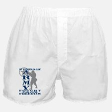 Father-n-Law Fought Freedom - ARMY Boxer Shorts