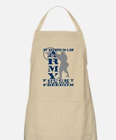 Father-n-Law Fought Freedom - ARMY BBQ Apron