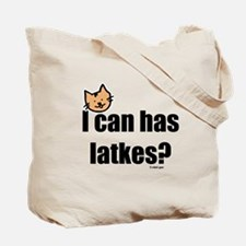 Eating Your Latkes Tote Bag
