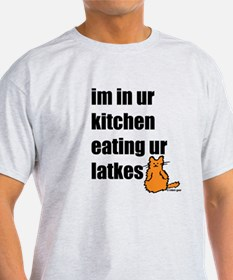 Eating Your Latkes T-Shirt
