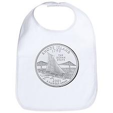 Rhode Island Statehood Coin Bib