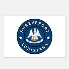 Shreveport Louisiana Postcards (Package of 8)