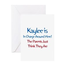 Kaylee Is In Charge Greeting Card