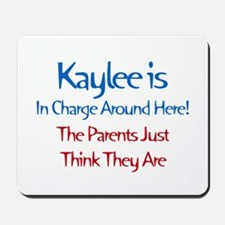 Kaylee Is In Charge Mousepad
