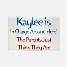 Kaylee Is In Charge Rectangle Magnet (10 pack)