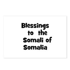 Blessings  to  the  Somali of Postcards (Package o