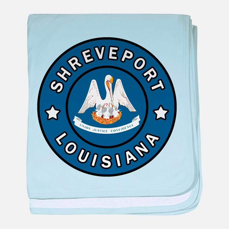 Shreveport Louisiana baby blanket