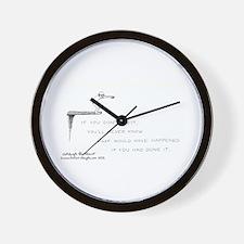 312 Wall Clock