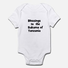 Blessings  to  the  Sukuma of Infant Bodysuit