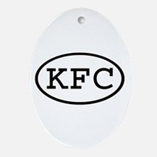 KFC Oval Oval Ornament