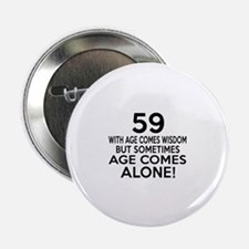 """59 Awesome Birthday Designs 2.25"""" Button"""