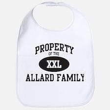 Property of Allard Family Bib