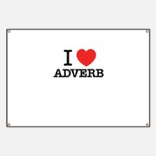 I Love ADVERB Banner