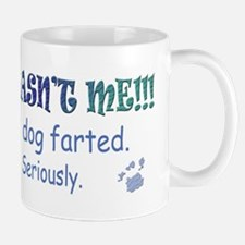 it wasn't me - the dog farted Mugs