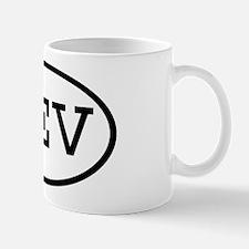 KEV Oval Mug