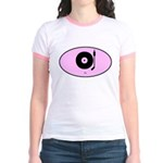 DJ (euro-pink) Jr. Ringer T-Shirt