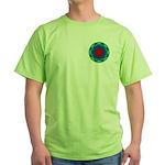 MANDALA ART Green T-Shirt