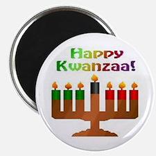 "Happy Kwanzaa 2.25"" Magnet (10 pack)"