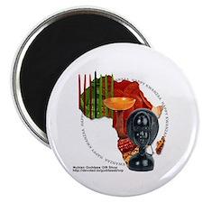 "Kwanzaa 2.25"" Magnet (10 pack)"