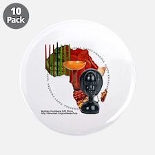 """Kwanzaa 3.5"""" Button (10 pack)"""