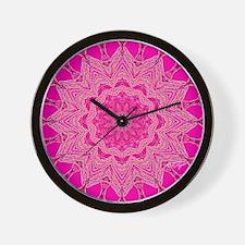 MANDALA ART Wall Clock