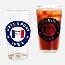 Unique Iowa hawkeyes Drinking Glass