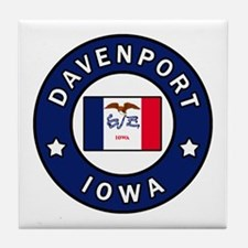 Funny Iowa hawkeyes Tile Coaster