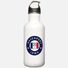 Davenport Iowa Water Bottle