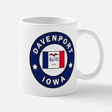 Davenport Iowa Mugs