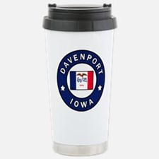 Davenport Iowa Travel Mug